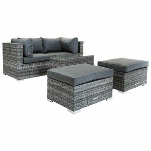 Huntington 4 Seater Rattan Sofa Set Image