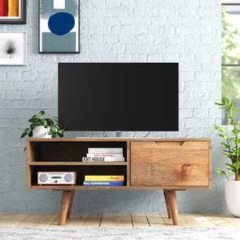 Corrigan Studio Arleta Tv Stand For Tvs Up To 43 Reviews Wayfair Co Uk