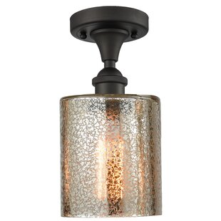 Inglestone Common 1-Light Semi Flush Mount by Orren Ellis