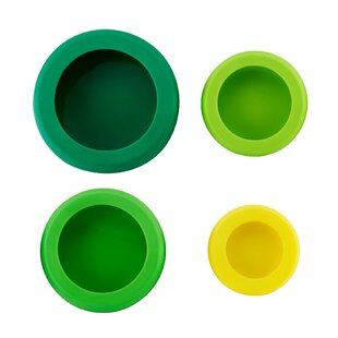 Reusable Silicone 4-Container Food Storage Set