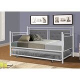 Arran Twin Metal Daybed with Trundle by Red Barrel Studio®