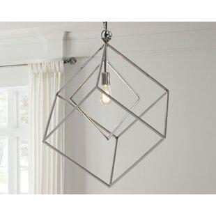 Wrought Studio Binion 1-Light Square Pendant