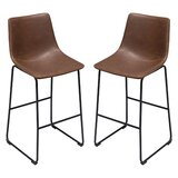 Theo 30  Bar Stool (Set of 2) by Diamond Sofa