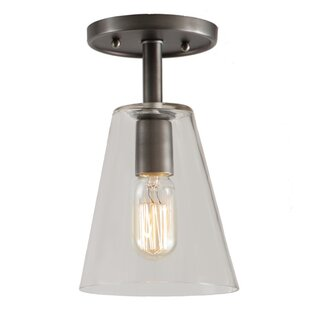 Baptiste 1-Light Semi Flush Mount by Ebern Designs