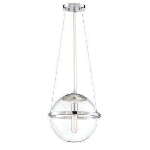 Orren Ellis Caudill 1-Light Globe Pendant