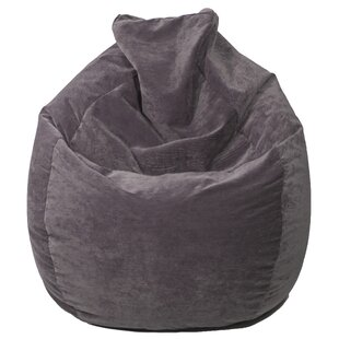 Teardrop Microfiber Suede Corduroy Bean Bag Chair