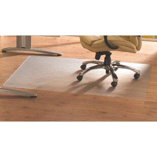 Cleartex Advantagemat Rectangular Chair Mat For Hard Floor By Floortex