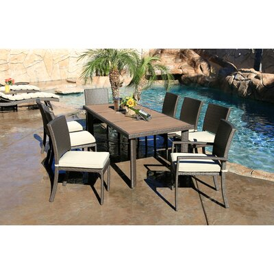 Tampa 9 Piece Dining Set World Wide Wicker