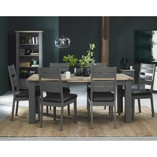 Dorantes Extendable Dining Set With 6 Chairs By Mercury Row