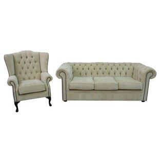 Chilcote 2 Piece Sofa Set By Rosalind Wheeler