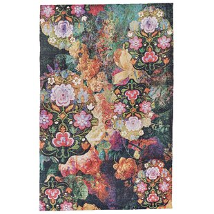 Floral Plant Pink Area Rugs Youll Love Wayfair