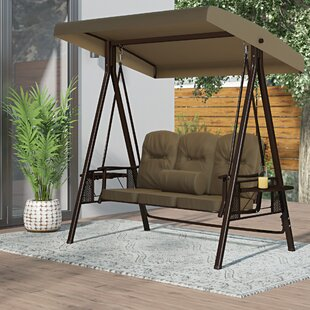 Stoner Outdoor Canopy Porch Swing with Stand by Freeport Park