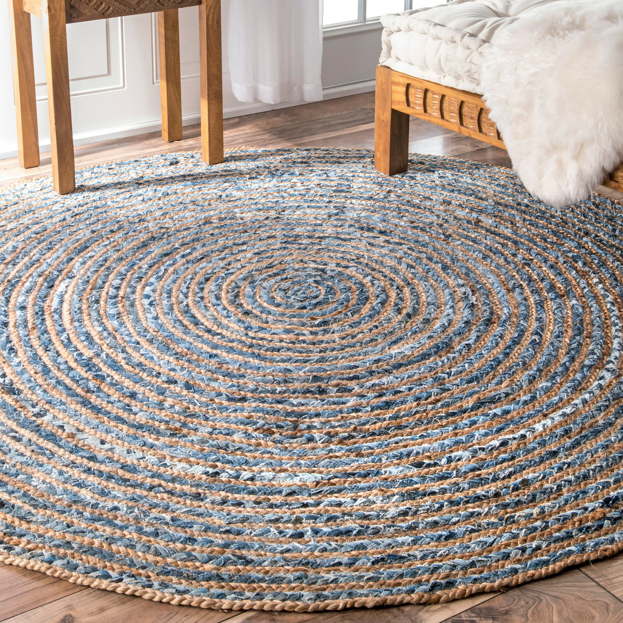 Braided Round Area Rugs Up To 60 Off