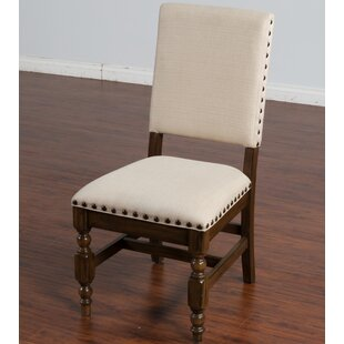 Birney Upholstered Dining Chair Loon Peak
