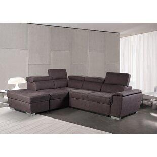 Durso Corner Sofa Bed By Ebern Designs