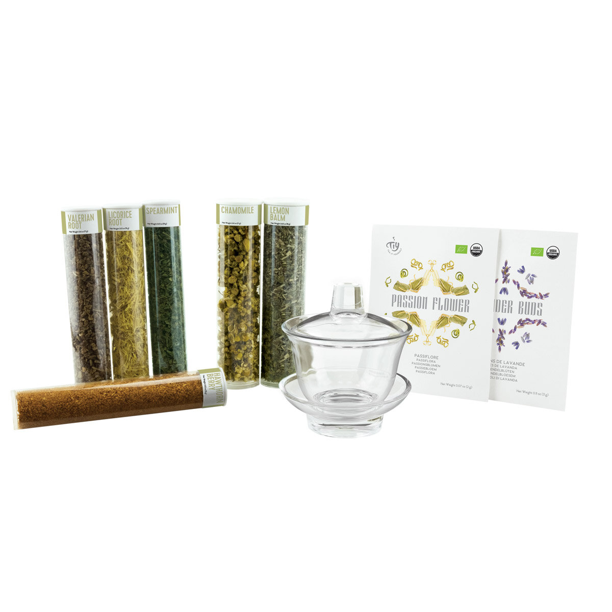 Teaityourself Tea It Yourself No Stress Organic Herbal Infusion Kit Wayfair
