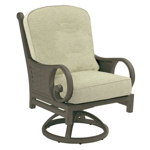 Riviera Swivel Rocking Chair With Cushion by Leona Best Choices