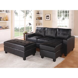 Eastbrook Reversible Sectional with Ottoman
