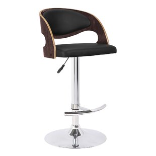 Chaffins Height Adjustable Swivel Bar Stool By Langely Street