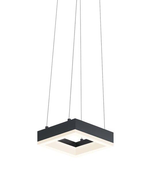 Orren Ellis Guadelupe 1-Light Single Square Pendant