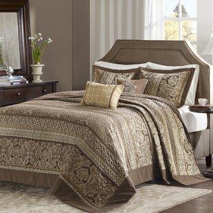 Phillipe 5 Piece Reversible Jacquard Bedspread Set
