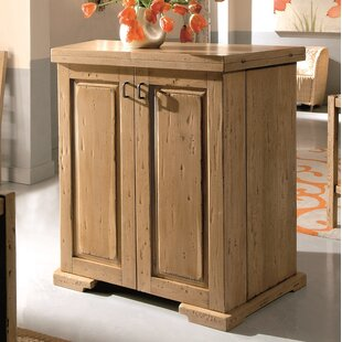 Loon Peak Kenmure Folding Bar Cabinet