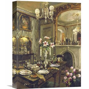 The Dining Room By Foxwell Painting On Wrapped Canvas