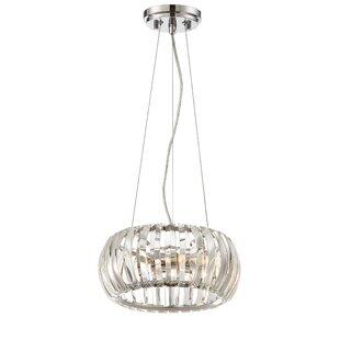 Mercer41 Maliyah 2-Light Crystal Pendant
