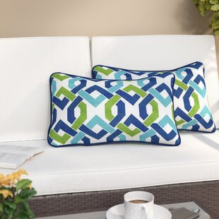 Grassmere Indoor/Outdoor Lumbar Pillow (Set of 2) by Three Posts