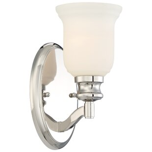 Ameche 1-Light Bath Sconce by Darby Home Co