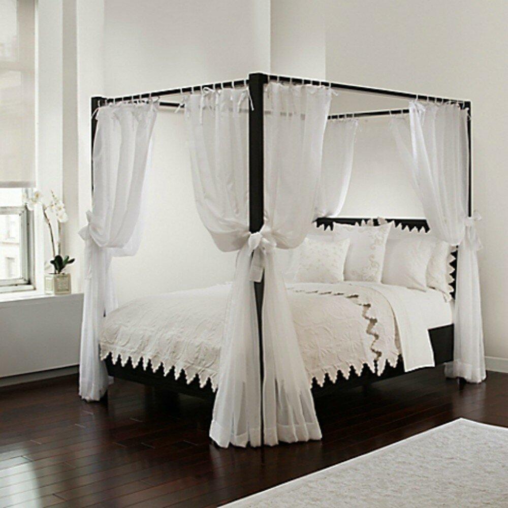 - One Allium Way Ahren Bed Canopy Panels & Reviews Wayfair