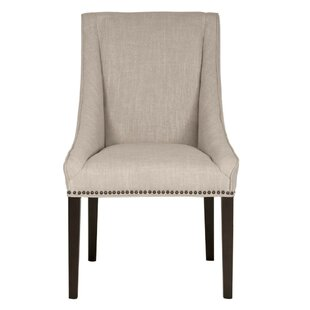 Mcfarland Wooden Upholstered Dining Chair..