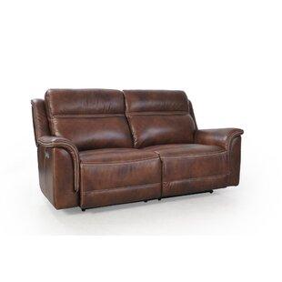 5101b60f1d99 Cheap Williston Forge Kasha Top Grain Leather Chesterfield Sofa