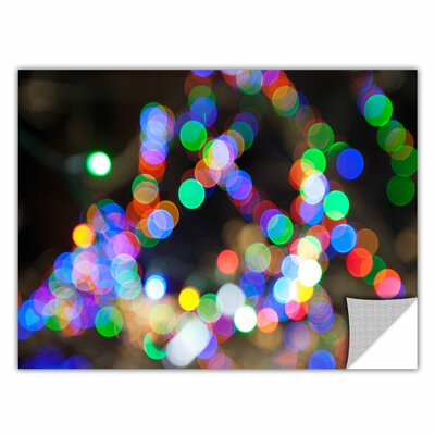 ArtWall 'Bokeh 1' by Cody York Graphic Art  Removable Wall Decal Size: 24 H x 36 W x 0.1 D