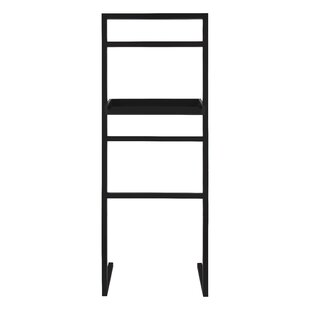 Latitude Run McGonigal Decorative Modern Wooden Leaner Ladder Wall Shelf