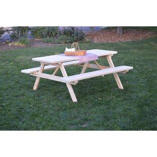 Loon Peak Ripley Pine Picnic Table
