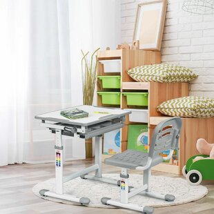 Berkeley 26 Art Desk and Chair Set by Zoomie Kids
