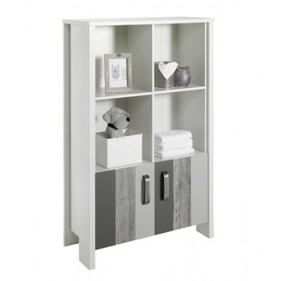 Woody Grey Bookcase By Schardt