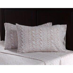 Knit Print Microfleece Sheet Set ByBerkshire Blanket