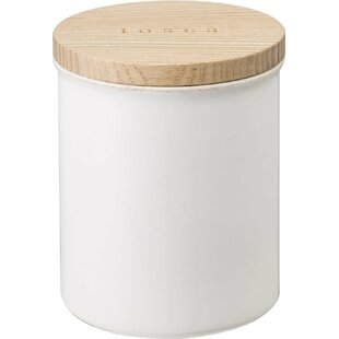 Modern 1.08 Qt. Ceramic Kitchen Canister