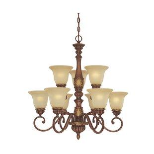 Dolan Designs Cascadia 9-Light Shaded Chandelier