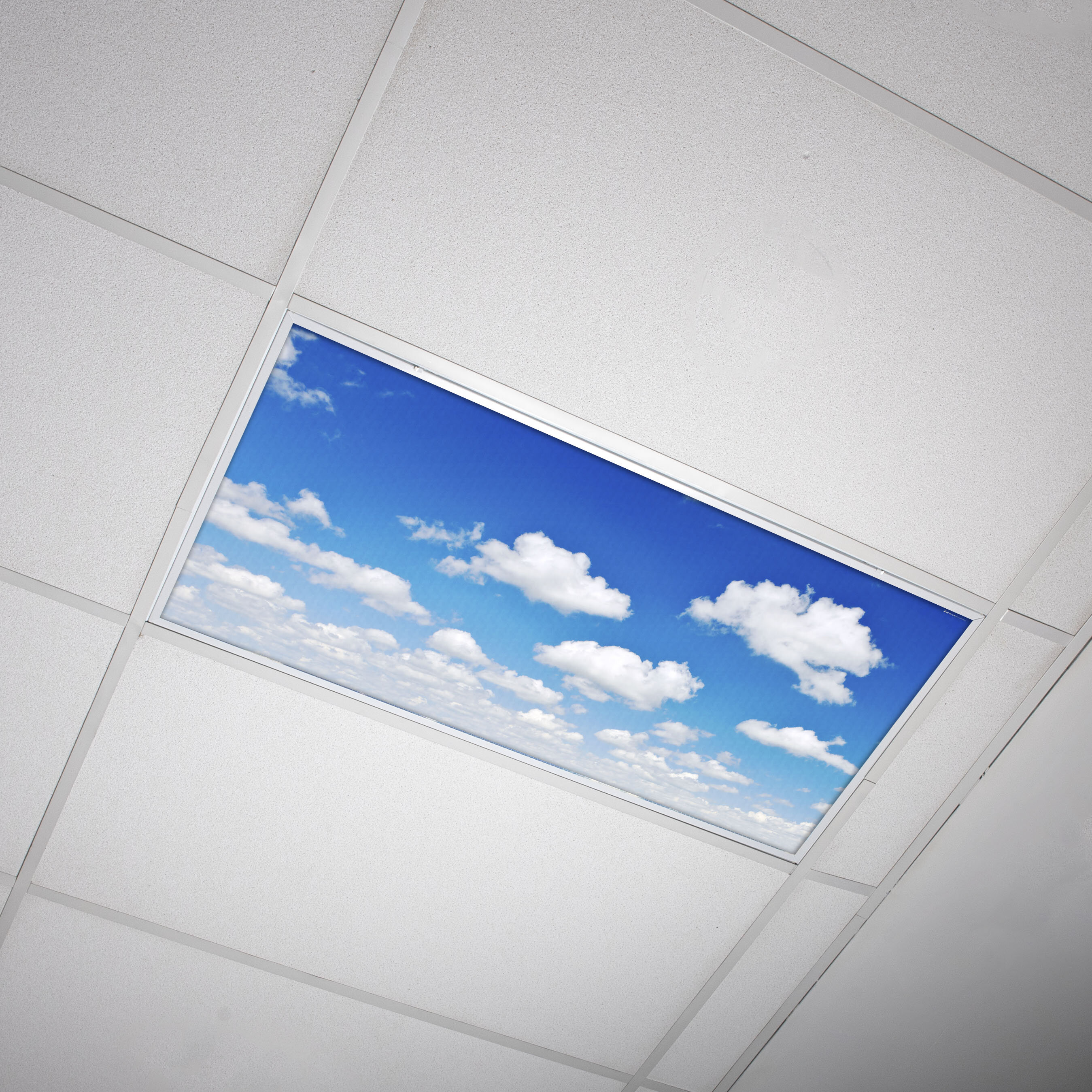 Octo Lights Fluorescent Light Covers Flexible Ceiling Light Diffuser Panels Decorative Clouds For Classrooms And Offices 011 Wayfair Ca