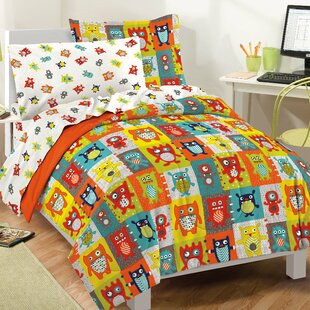 Silly Monsters Comforter Set