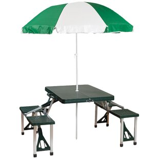 Andrew Picnic Table with Umbrella