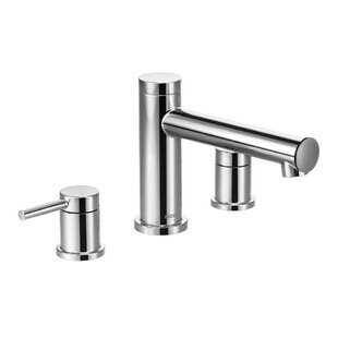 Moen Align Two Handle Deck Mount Roman Tu..