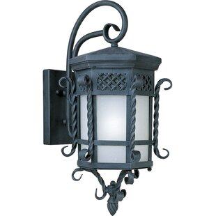 Roemer LED Outdoor Wall Lantern by Astori..