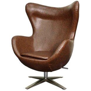 Ledet Swivel Wingback Chair