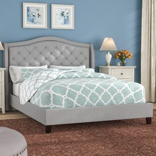 Virginia Queen Upholstered Platform Bed by Alcott Hill