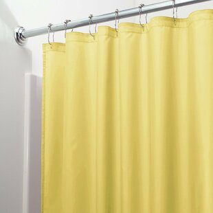 Bath Waterproof and Mildew Resistant Vinyl Single Shower Curtain Liner