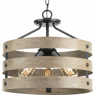 17 Stories Emaria 3-Light Semi Flush Mount